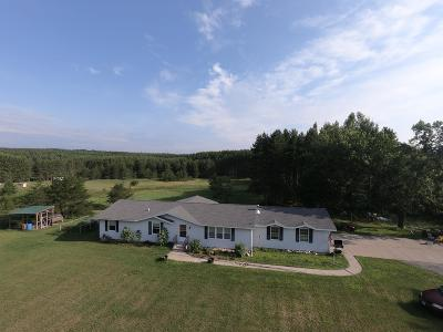 Marinette County Single Family Home For Sale: W10066 Barnes Lake Rd
