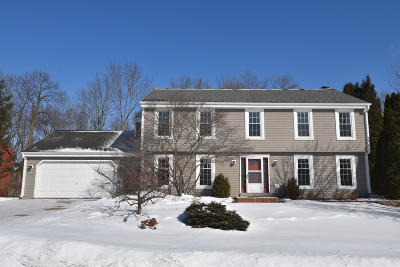 Menomonee Falls Single Family Home Active Contingent With Offer: N51w16698 Fair Oak Pkwy