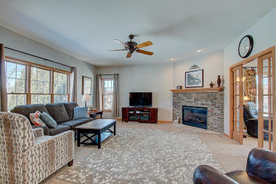 Waukesha Single Family Home Active Contingent With Offer: 2012 Coldwater Creek Dr