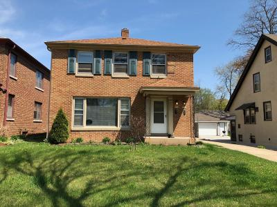 Wauwatosa Two Family Home For Sale: 7232 Milwaukee Ave