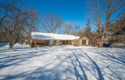 Menomonee Falls Single Family Home Active Contingent With Offer: W137n7621 North Hills Dr