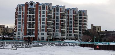 Racine Condo/Townhouse Active Contingent With Offer: 333 Lake Ave #607