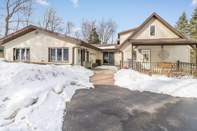 Single Family Home Active Contingent With Offer: S38w33565 County Road D