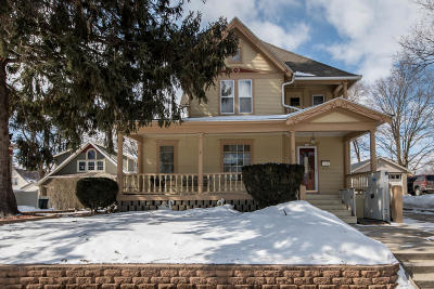 Waterford Single Family Home Active Contingent With Offer: 112 S Jefferson St