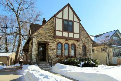 Shorewood Single Family Home Active Contingent With Offer: 1519 E Olive St