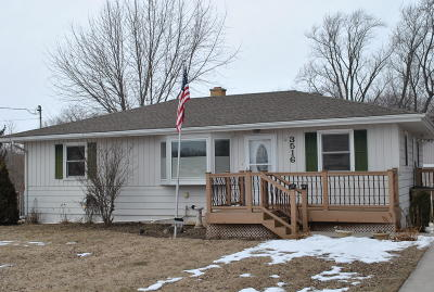 Pleasant Prairie Single Family Home Active Contingent With Offer: 3516 93rd St
