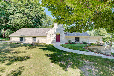 West Bend Single Family Home Active Contingent With Offer: 5810 River Rd
