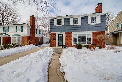 Whitefish Bay Single Family Home Active Contingent With Offer: 6129 N Santa Monica Blvd