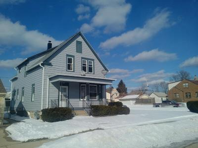 South Milwaukee Two Family Home Active Contingent With Offer: 602 Michigan Ave