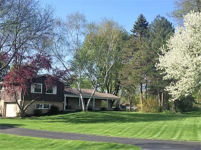 Waukesha Single Family Home Active Contingent With Offer: S23w26238 Canterbury Ln