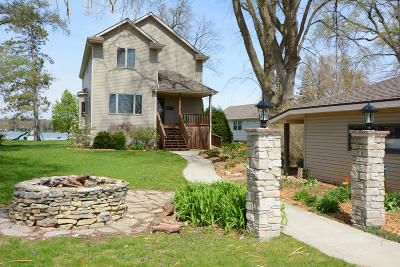 East Troy Single Family Home For Sale: W914 Shorewood Dr