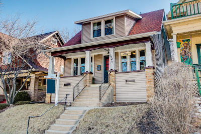 Milwaukee County Single Family Home Active Contingent With Offer: 3342 S New York Ave