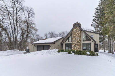Single Family Home Active Contingent With Offer: S68w14193 Gaulke Dr