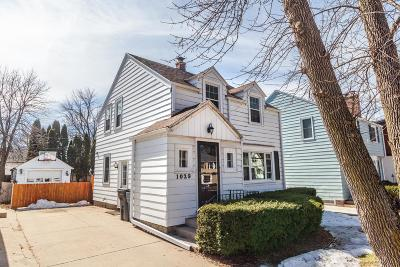 Single Family Home Active Contingent With Offer: 1029 E Colfax Pl