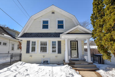 Single Family Home Active Contingent With Offer: 631 N 61st St