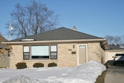 Racine Single Family Home For Sale: 915 Indiana St