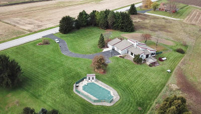 Watertown Single Family Home Active Contingent With Offer: N7434 County Road E