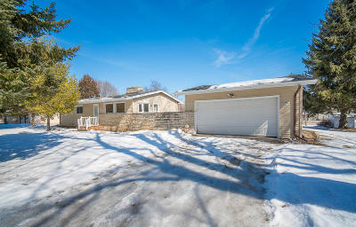 New Berlin Single Family Home Active Contingent With Offer: 5240 S Nicolet Dr