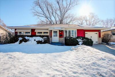 West Allis Single Family Home Active Contingent With Offer: 2892 S 95th St