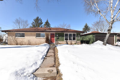 Single Family Home Active Contingent With Offer: W146n8369 Schlafer Dr