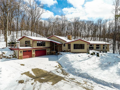 Richfield, Hubertus Single Family Home Active Contingent With Offer: 4910 Hubertus Rd