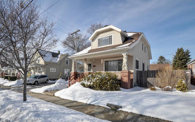 Racine Single Family Home Active Contingent With Offer: 610 Goold St