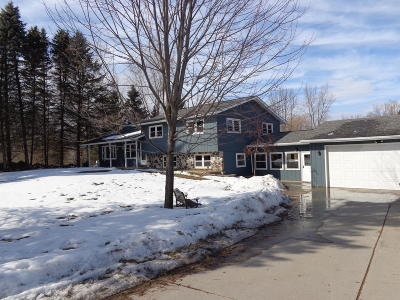 West Bend Single Family Home Active Contingent With Offer: 5878 Sand Dr