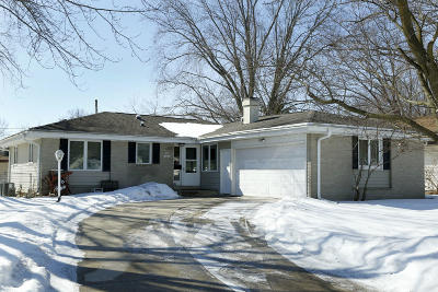 Single Family Home Active Contingent With Offer: N84w18049 Lawrence Ave