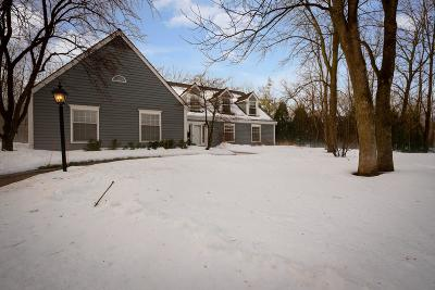 Mequon Single Family Home Active Contingent With Offer: 3535 W River Ct