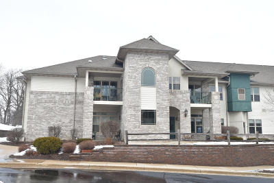 West Bend Condo/Townhouse Active Contingent With Offer: 470 N Silverbrook Dr #203