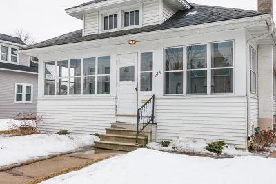 Lake Mills Single Family Home Active Contingent With Offer: 218 Fargo St