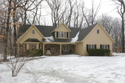 Menomonee Falls Single Family Home Active Contingent With Offer: W148n7496 Woodland Dr