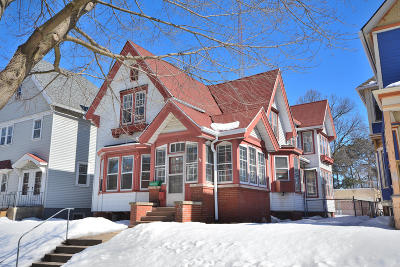 Single Family Home Active Contingent With Offer: 2318 N Booth St