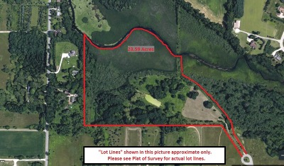 Waukesha Residential Lots & Land For Sale: W365s2967 Walters Rd