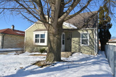 Single Family Home Active Contingent With Offer: 3775 S 23rd St