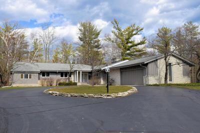 Milwaukee County Single Family Home For Sale: 9596 N Regent Rd