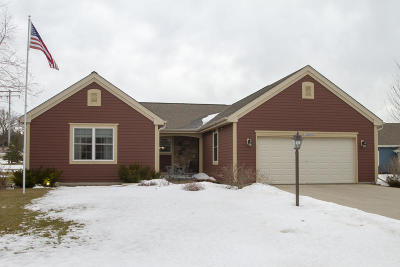 Muskego Single Family Home Active Contingent With Offer: W125s9483 Prairie Meadows Dr