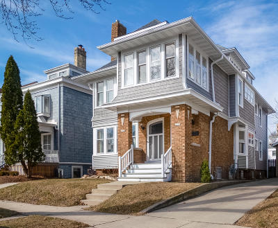 Milwaukee WI Two Family Home For Sale: $450,000