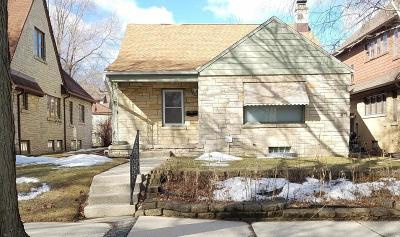 Single Family Home Active Contingent With Offer: 3265 N 50th St