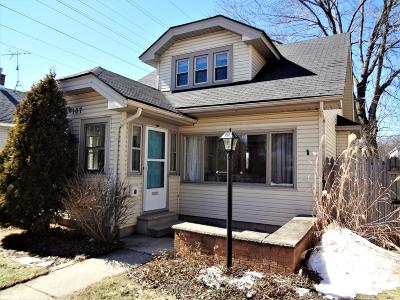 Milwaukee Single Family Home Active Contingent With Offer: 107 N 74th St