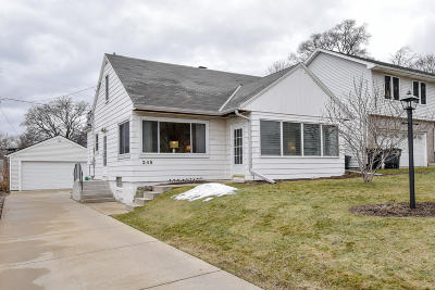 Single Family Home Active Contingent With Offer: 245 N 114th St