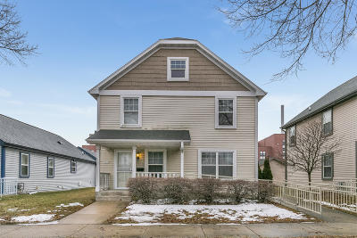 Milwaukee Single Family Home For Sale: 1815 N McKinley Ave