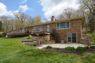 Richfield, Hubertus Single Family Home For Sale: 1493 Friess Lake Dr