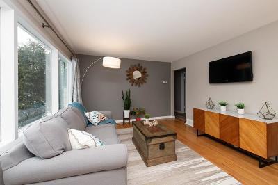 Single Family Home Active Contingent With Offer: 9310 W Melvina St