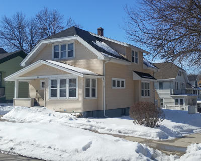 Sheboygan Single Family Home Active Contingent With Offer: 804 S 16th St