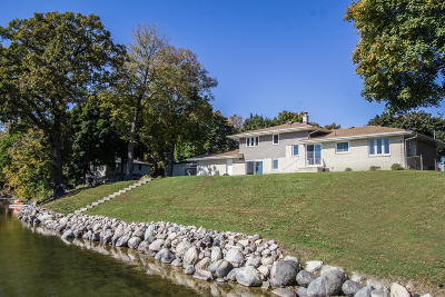 Racine County Single Family Home For Sale: 2201 Browns Lake S Dr
