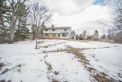 Mukwonago Single Family Home For Sale: S93w31160 County Road Nn
