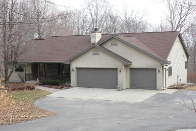 Plymouth Single Family Home For Sale: N6803 Rocky Ln