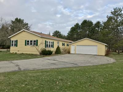 Marinette Single Family Home For Sale: W2008 Nettleton Rd
