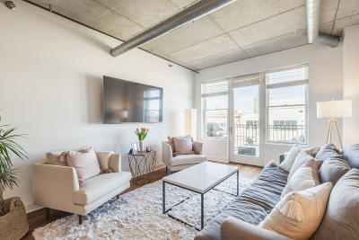 Condo/Townhouse Active Contingent With Offer: 102 N Water St #710